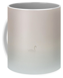 Pale Outline In The Fog Coffee Mug