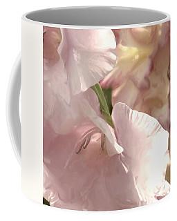 Pale Pink Glads Coffee Mug