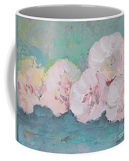 Pale Pink Peonies Coffee Mug by Robin Maria Pedrero