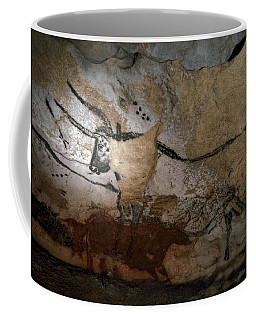Paleolithic Art Of Bulls On Calcite Coffee Mug