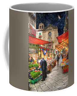 Palermo Market Place Coffee Mug