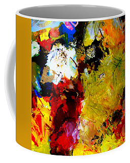 Palette Abstract Square Coffee Mug