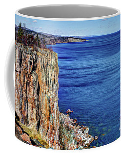 Palisade Head Tettegouche State Park North Shore Lake Superior Mn Coffee Mug