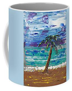 Coffee Mug featuring the painting Palm Beach by J R Seymour