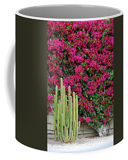 Palm Desert Blooms Coffee Mug