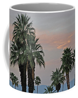 Palm Desert Sunset  Coffee Mug