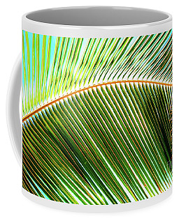 Coffee Mug featuring the photograph Palm Frond Sway by D Davila