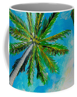 Palm In The Sky Coffee Mug