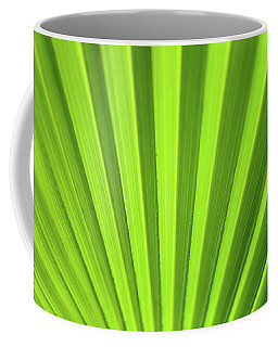 Palm Leaf Abstract Coffee Mug