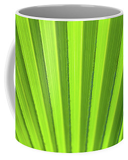 Palm Leaf Abstract Coffee Mug