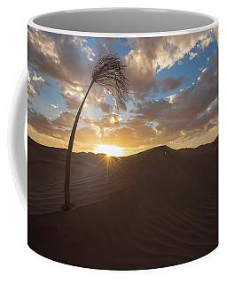 Palm On Dune Coffee Mug