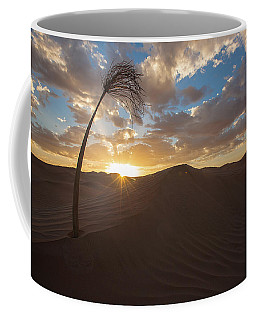 Palm On Dune Coffee Mug