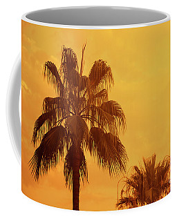 Palm On Tropical Island Coffee Mug