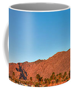 Palm Springs Sunrise Coffee Mug
