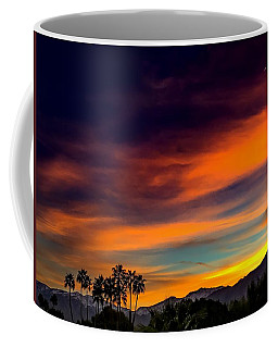 Palm Springs Sunset Coffee Mug