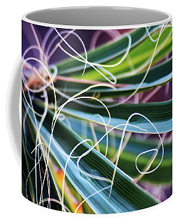 Palm Strings Coffee Mug by John Glass