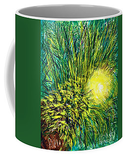 Palm Sunburst  Coffee Mug