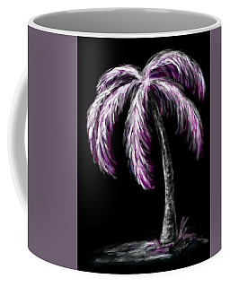 Palm Tree In Pink Coffee Mug by Dani Abbott