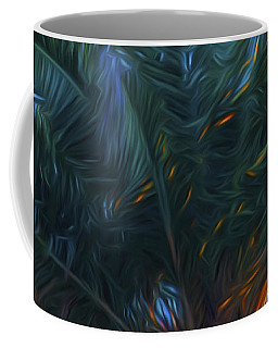 Palm Tree In The Sun Coffee Mug