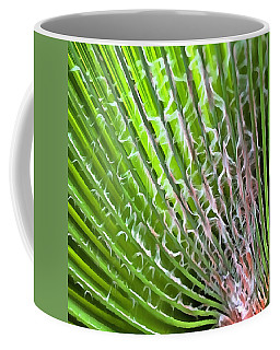 Palm Tree Tropical Leaf Coffee Mug