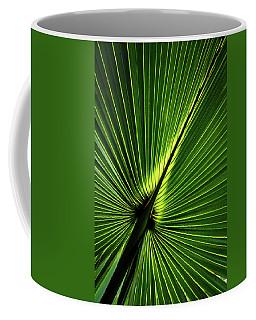 Palm Tree With Back-light Coffee Mug