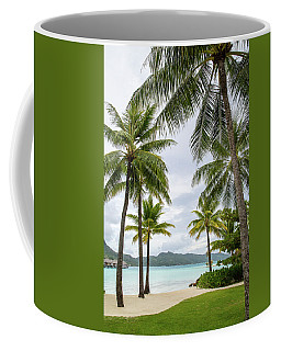 Coffee Mug featuring the photograph Palm Trees 1 by Sharon Jones