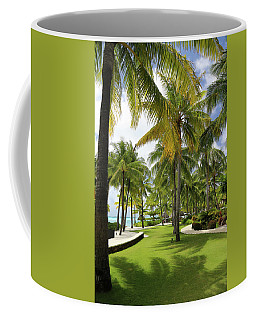 Coffee Mug featuring the photograph Palm Trees 2 by Sharon Jones