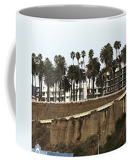 Palm Trees And Apartments Coffee Mug