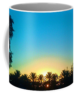 Blue Sunset New Orleans City Park Coffee Mug by Deborah Lacoste