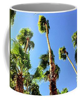 Palm Trees Looking Up Coffee Mug