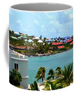 Palm Trees Of Oyster Bay Coffee Mug