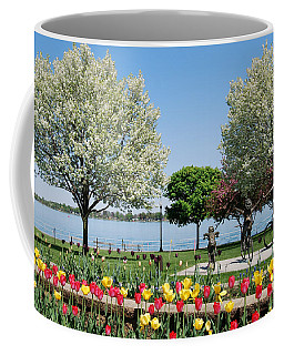 Palmer Park In Spring Coffee Mug