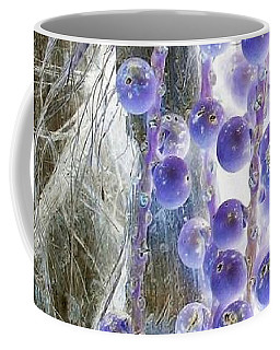 Backlit Blueberries Coffee Mug