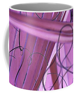 Lines, Curves And Highlights Coffee Mug
