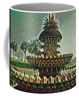Palms And Pineapples Coffee Mug