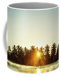 Palms And Rays Coffee Mug