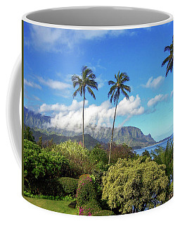 Palms At Hanalei Coffee Mug