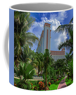 Palms At The Riu Cancun Coffee Mug