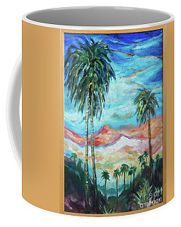 Palms On Hill Coffee Mug
