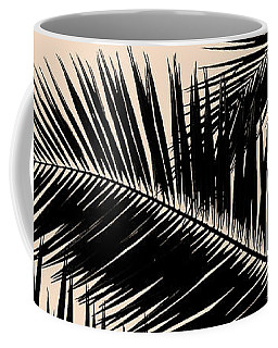 Palms On Pale Pink Coffee Mug