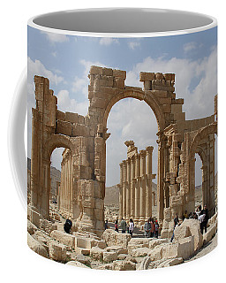 Palmyra Before...triumphal Arch Coffee Mug