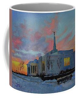 Palmyra Temple At Sunset Coffee Mug