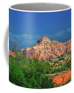 Palo Duro Canyon Sunrise Coffee Mug by Diana Mary Sharpton