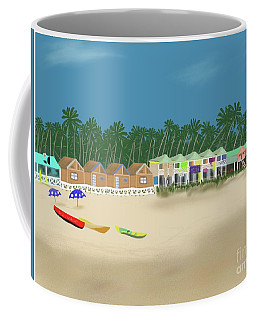 Palolem Beach Goa Coffee Mug