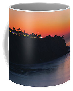 Coffee Mug featuring the photograph Palos Verdes Coast After Sunset by Andy Konieczny