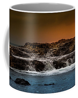 Palos Verdes Coast Coffee Mug by Ed Clark