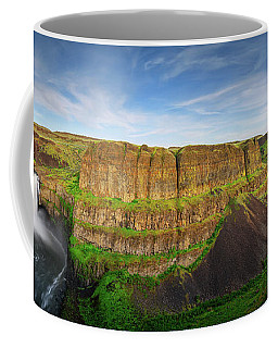 Palouse Falls Canyon Coffee Mug