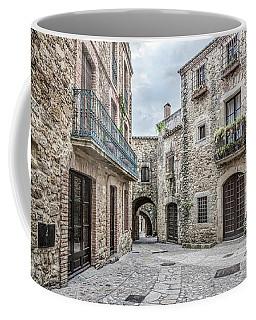 Pals, Carrer Major In Catalonia Coffee Mug