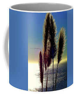 Pampas Grass And The Pacific Coffee Mug