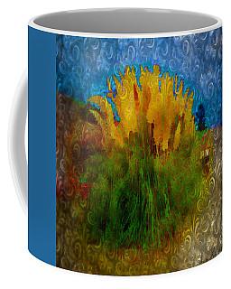Coffee Mug featuring the photograph Pampas Grass by Iowan Stone-Flowers